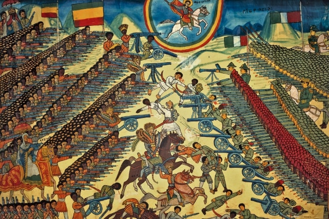 The-British-Museum-The-Battle-of-Adwa-Painting
