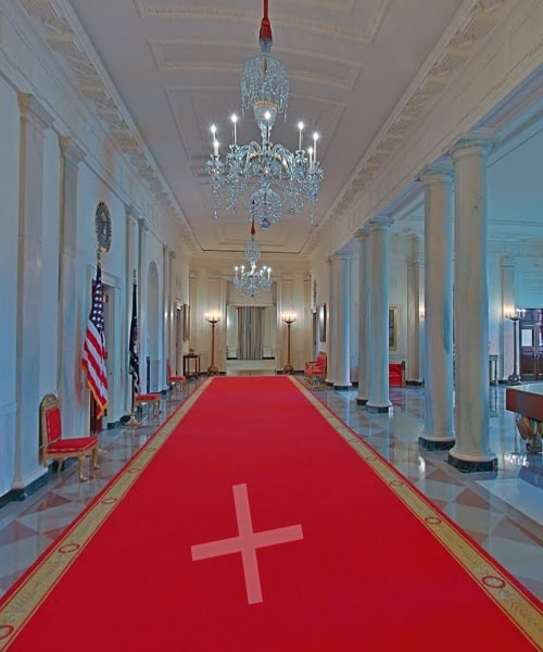 White-House-Central-Corridor-Virtual-Tour
