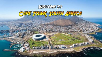 Cape Town South Africa virtual tour international scavenger hunt using Google Maps