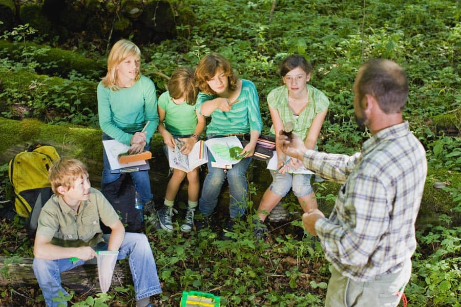 high-school-field-trip-chaperone-teaching-in-the-woods-square