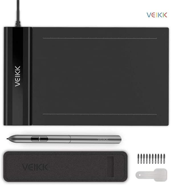 graphics tablet for online digital signatures and remote teaching