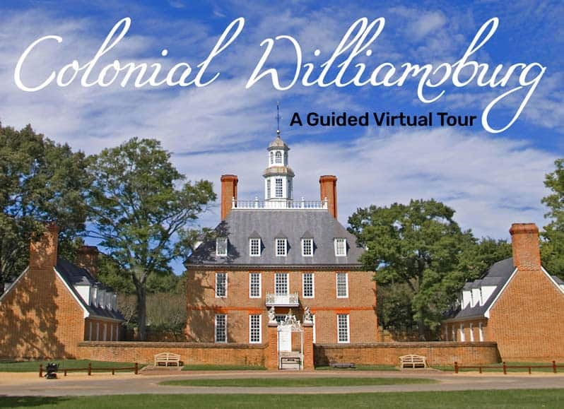 colonial williamsburg guided tour